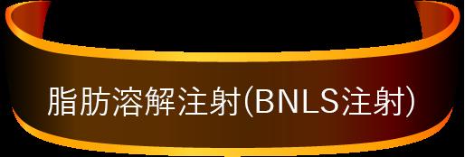 脂肪溶解注射(BNLS注射)